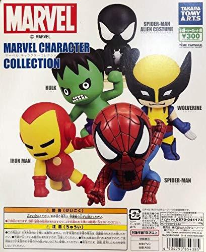 MARVEL マーベル キャラクターコレクション ノーマル5種セット タカラトミーアーツ 【予約商品】