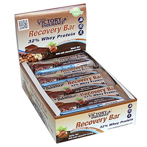 Weider Recovery Bar Hazelnut Flavor. Recovery Wafer bar with 32% Protein (12x50 g)
