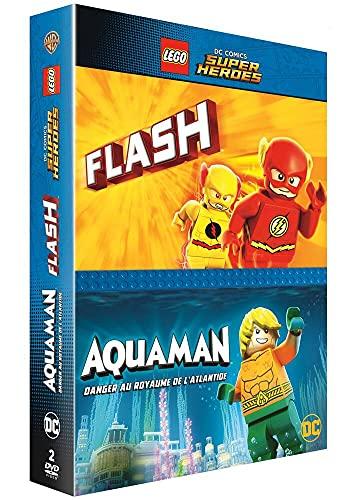 Coffret lego 2 films : aquaman ; the flash