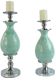 W.Z.H.H.H Manualidades Candelabro Modelo de Metal-cerámica/Decoraciones caseras Dispuestos Practical Software Instalado decoración para el hogar