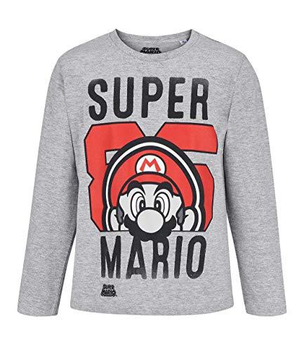 Nintendo Super Mario Bros Maglietta a Maniche