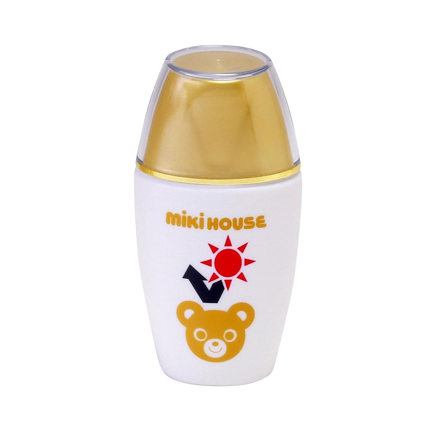 重大詳細に強化ミキハウス (MIKIHOUSE) UVカットミルク 15-3050-787 - -