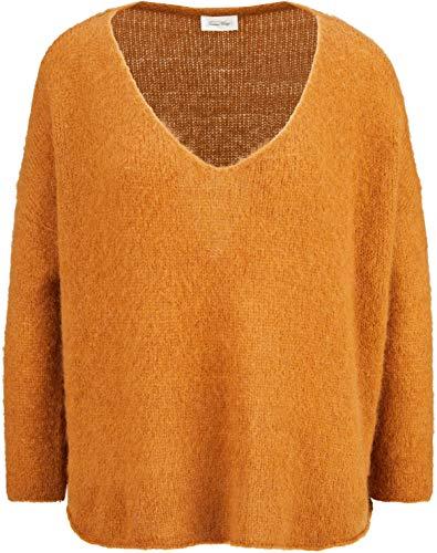American Vintage Damen Pullover mit Mohair in Braun XS/S