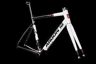ARGON18 Road Bike Frame Krypton Rim Brake Gloss-White Black, Size XXS