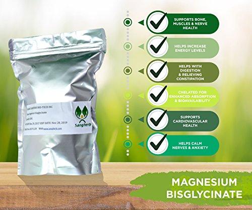 Magnesiumglycinat Pulver (Magnesiumchelat), rein [250g]