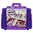 Kinetic Sand, Folding Sand Box with 2lbs of & Mold & Tools, Multicolor