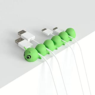 Cable Clips - Cord Organizer - Cable Management - Cable Organizer Desk Organizer for Home Office Desk Car, Cubicle, Nights...