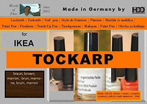 ausbesserung couleur pour IKEA tockarp Black/Brown