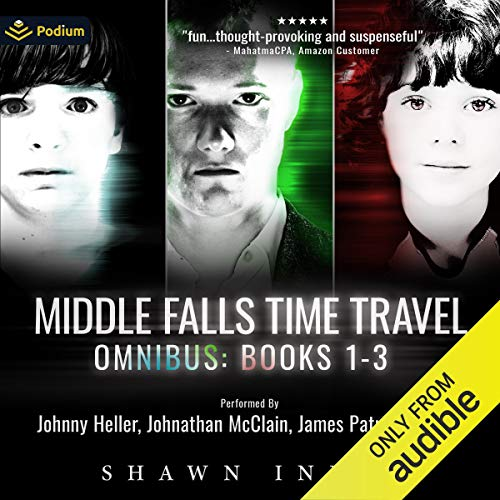 Middle Falls Time Travel Omnibus audiobook cover art
