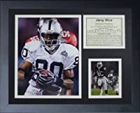 """Legends Never Die Jerry Rice Oakland Raiders Collage Photo Frame, 11"""" x 14"""""""