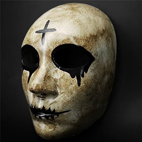 CCUFO Máscara Cruzada y máscara de Dios para Disfraz de Halloween ...