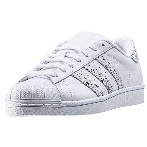 adidas adidas Originals Unisex-Erwachsene Superstar Sneaker, weiß Ftwwht/Crywht, 45 1/3 EU
