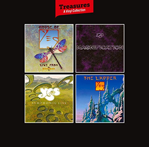 Yes: Treasures - A Vinyl Collection (Ltd. Vinyl Box) [Vinyl LP]