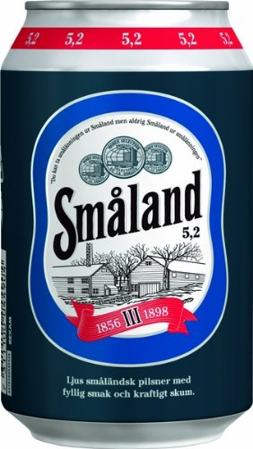 Smaland Premium Lager 5,2% 24x0,33 ltr. inkl. Pfand