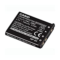 カシオ リチウムイオン充電池 NP-801個 ds-2142273