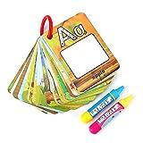 Tarjetas de pintura de agua Tablero de dibujo de niños Tarjeta de colorante de niños Número de...