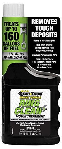 Star Tron Ring Clean+ Plus Deposit Control Fuel Additive with Enzyme Technology - 16 oz