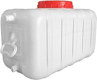 MORN Bidon Alimentaire, Seau de Stockage d'eau, Support de Stockage d'eau Carré Extérieur, Seau de Qualité Alimentaire Sol...