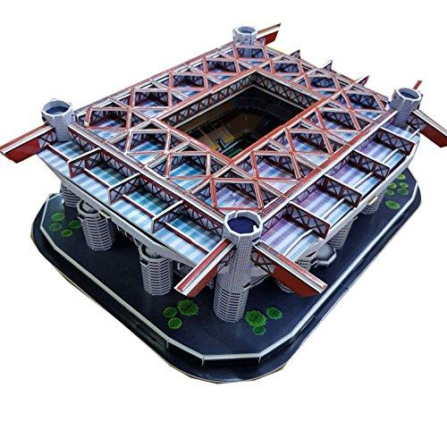 Puzzle 3D–stadio San Siro–AC Milan