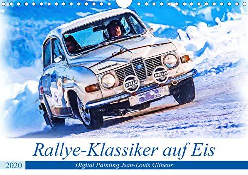 Rallye-Klassiker auf Eis (Wandkalender 2020 DIN A4 quer): Spaß auf vier Rädern bei Eis und Schnee (Monatskalender, 14 Seiten ) (CALVENDO Mobilitaet)