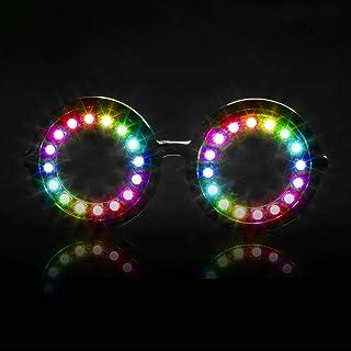 e51794bf4a GloFX Pixel Pro LED Lentes [350+ Épico Modos] - Gafas de Sol Programables