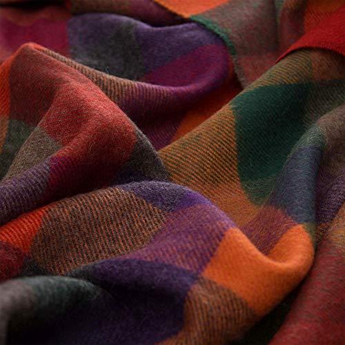 Lorenzo Cana High End Luxus Alpakadecke aus 100% Alpaka - Wolle vom Baby - Alpaka flauschig weich Decke Wohndecke Sofadecke Tagesdecke Kuscheldecke 96283