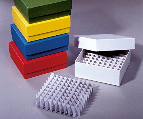 dutscher 039823 - Juego de separadores para congelador (81 tubos de 2 ml, 50 x 136 mm)