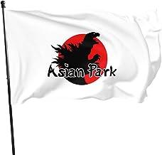 Bandera de Parque Asiático, 3 x 5 pies