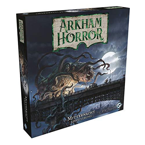 Fantasy Flight Games FFGD1035 Arkham Horror 3.Ed. -Mitternacht Erweiterung, Mehrfarbig, bunt