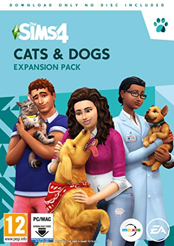 The Sims 4 Cats & Dogs (PC) (DVD)