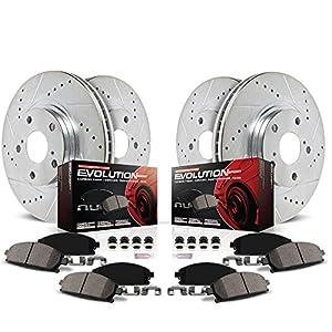 Chevrolet CAMARO 2010 V8 SS FULL KIT POWERSPORT DRILLED SLOTTED Brake Rotors
