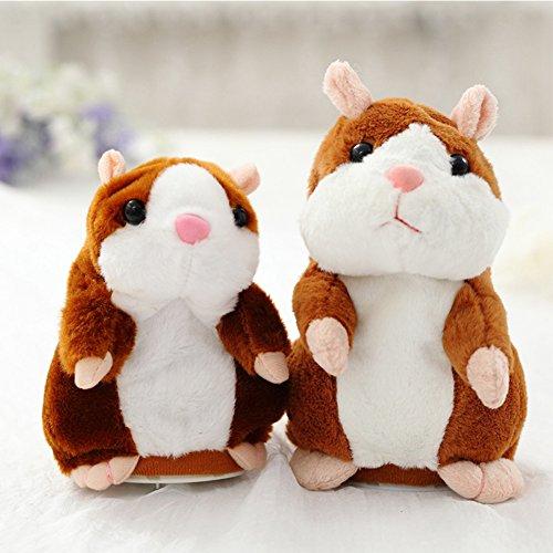 ZANTEC Baby-Spielzeug, sprechendes Hamster-Spielzeug, kann die Stimme ändern, Geräusche aufzeichnen oder gehen, frühzeitige Erziehung für Kinder