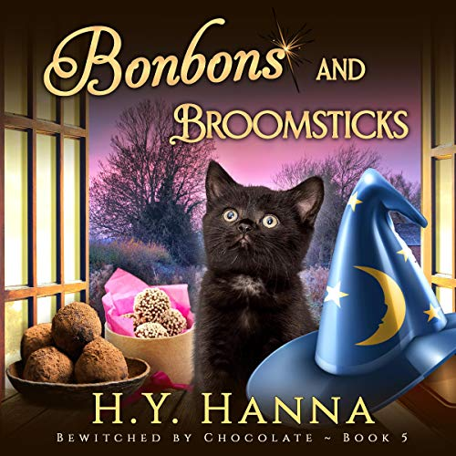 Bonbons and Broomsticks audiobook cover art
