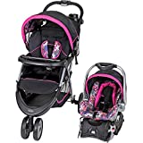 Image of Baby Trend EZ Ride 5 Travel System, Floral Garden