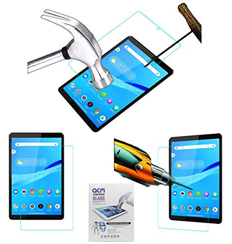Acm Tempered Glass Screenguard Compatible with Lenovo Tab M8 (2Nd Gen) Za5G0047In Tablet Screen Guard