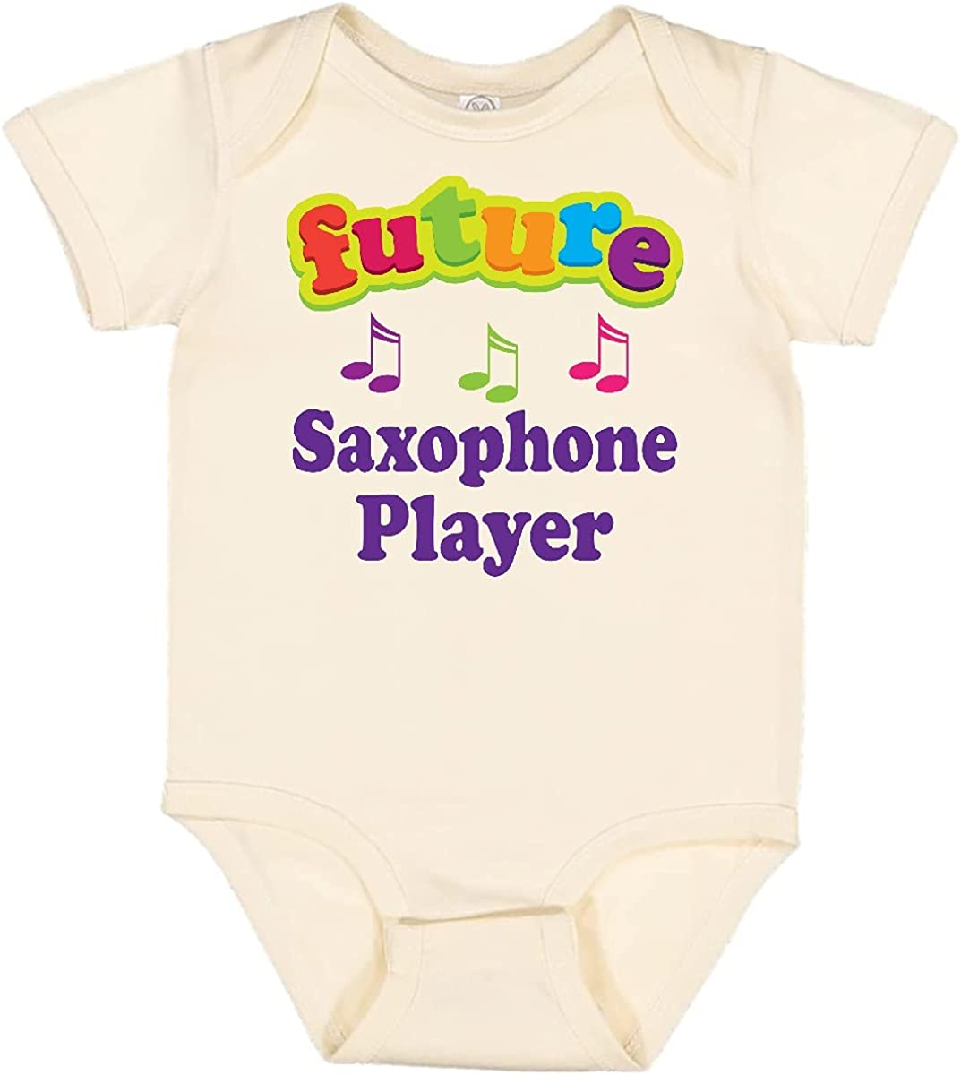 Charlotte Mall inktastic Future Easy-to-use Saxophone Player Sax Creeper Infant Music