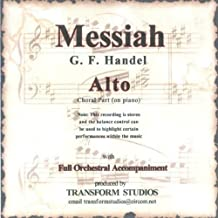 Messiah:And the Glory of the Lord (Alto Choral Part (on piano) with Orchestra)