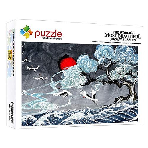 FFGHH Rompecabezas Puzzles 1000 Piezas Puzzle 1000 Piezas Niños Mini Puzzle Arte Abstracto Rompecabezas Divertido para Adultos Amigo Niños 14.96 In X 10.23 In