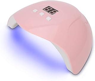 Regalo RomÁnticoSecador de esmalte,Secador de esmalte de uñas, 54W USB LED Lámpara de gel UV Máquina de curado Secador de esmalte de uñas inteligente Herramienta de manicura(SU
