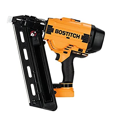 BOSTITCH 20V MAX Cordless Framing Nailer, 28 Degree Wire Weld, Tool Only (BCF28WWB) from Bostitch
