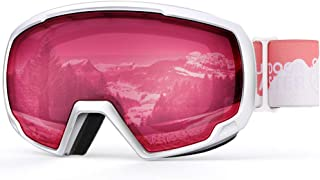 OutdoorMaster Kids Ski Goggles, Snowboard Goggles - Snow Goggles for Kids,Youth with Anti-Fog 100% UV Protection Spherical...