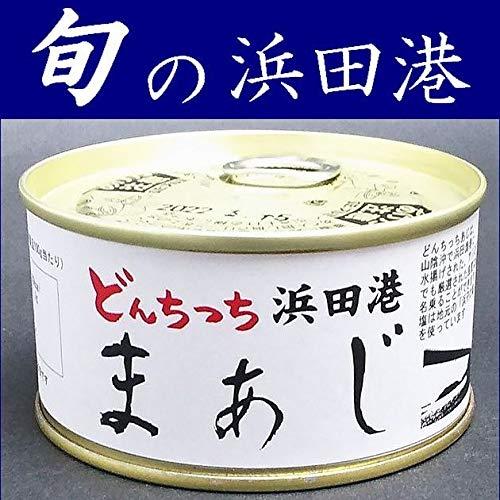 シーライフ 旬の魚まあじ缶詰180gX6缶【島根県浜田港】【水煮】【鯵】【マアジ】【どんちっち】