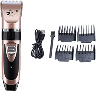 Balacoo Dog Grooming Clippers Low Noise Pet Hair Trimmer,Dog Clippers Professional Heavy Duty Grooming Set with Comb & Nai...