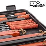 Zoom IMG-1 valigetta utensili grigliata bbq master