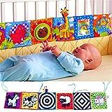 Aofocy Prime bébé livre bibliothèque Clip Clip sur le développement du livre en tissu Puzzle livre animal jouet coloré