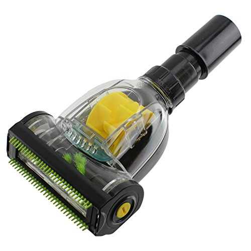 Spares2go Pet Hair & Dirt Removal Mini Turbo Floor Brush Tool For Shark Vacuum C