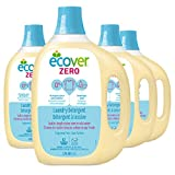 Ecover Zero Laundry Detergent, Fragrance Free, 93 Ounce (Pack 4)