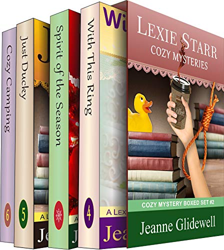 Lexie Starr Cozy Mysteries Boxed Set (Books 4 to 6): Cozy Mystery Box Set #2 With Bonus (A Lexie Starr Mystery) by [Jeanne Glidewell]