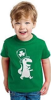 Irish T-Rex Dinosaur Clover Hat St. Patrick's Day Toddler/Infant Kids T-Shirt
