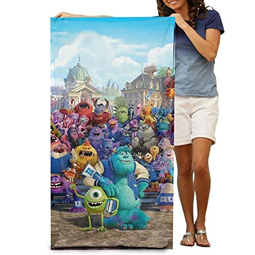 Cooper girl Monsters University Toalla de baño grande microfibra suave adulto toalla de natación para viajes